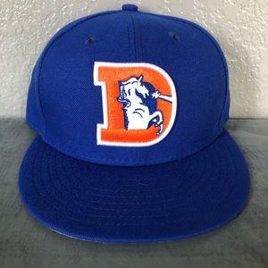 New! Denver Broncos Fitted Hat